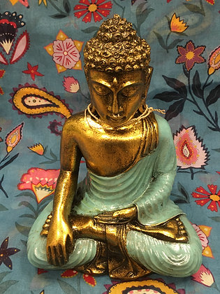 Sky blue Buddha