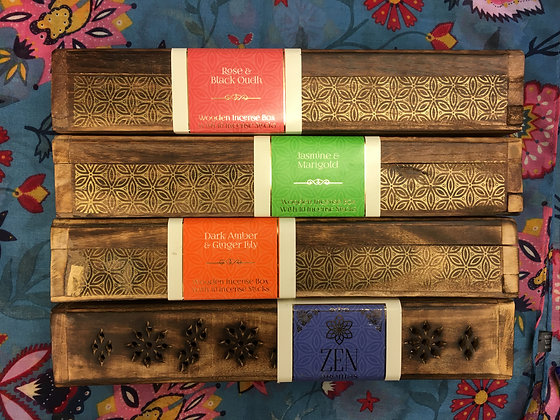 Incense holding box