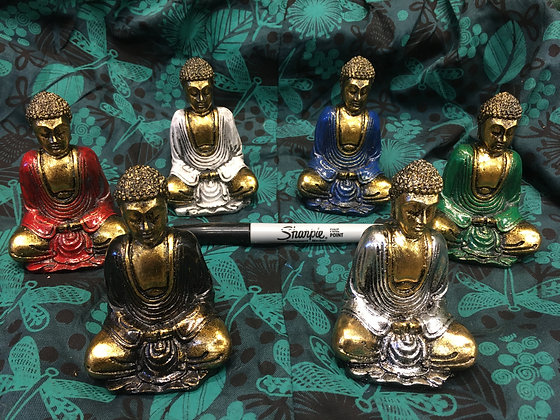Resin Buddhas