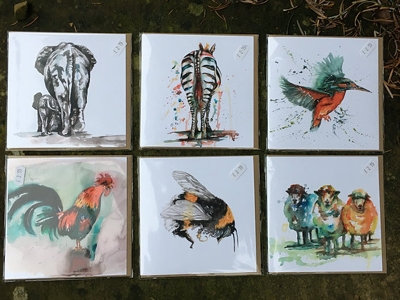Meg Hawkins Cards