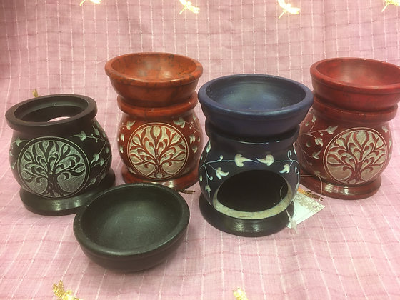 Soapstone Burners
