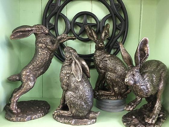Nemesis Now Hare statues