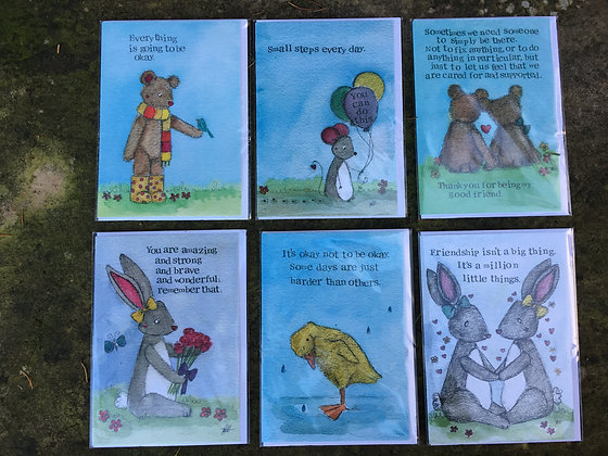 My Painted Bears Cards