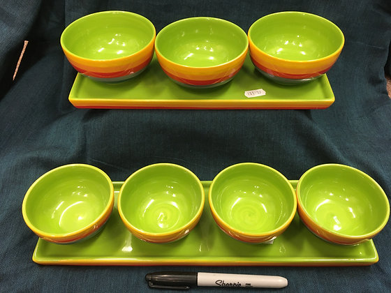 Rainbow Tapas Bowls