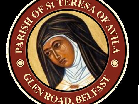 The St Teresa's Parish Bulletin for Sunday, 17th October 2021