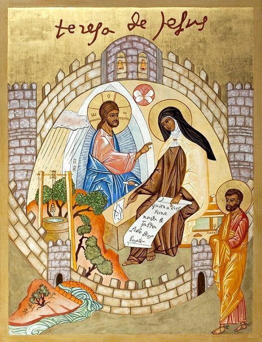 St Teresa Icon.jpg