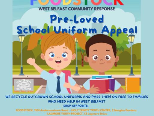 Foodstock - Pre-Loved School Uniform Appeal