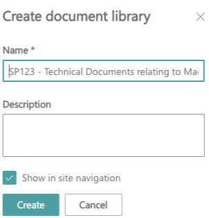 Create SharePoint Libraries with short URLs using PowerAutomate (Flow) !