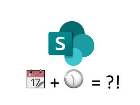 SharePoint - splitting a Date-Time field into separate Date and Time fields