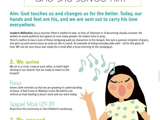 In the Gospel Today