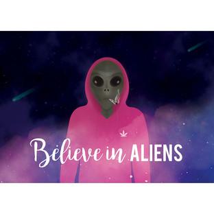 Believe in Aliens