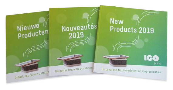 Products Catalogue (multiple language versions)