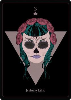 Sacra Muerte Playing Card