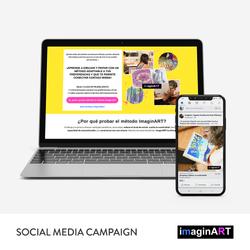imaginART Social Media Campaign