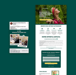 LANDING PAGE • BANNER ADS