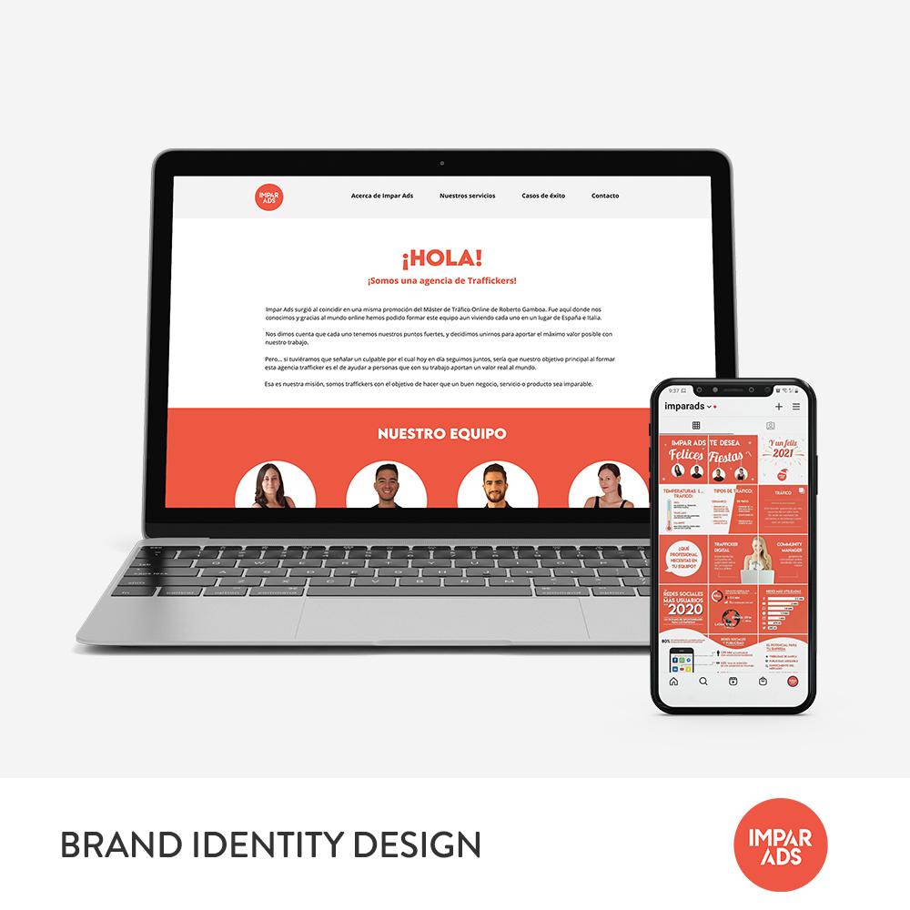 Impar Ads Brand Identity