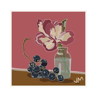 Still Life Grapes