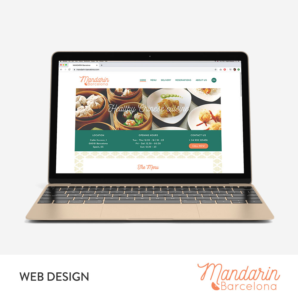 Mandarin Web Design