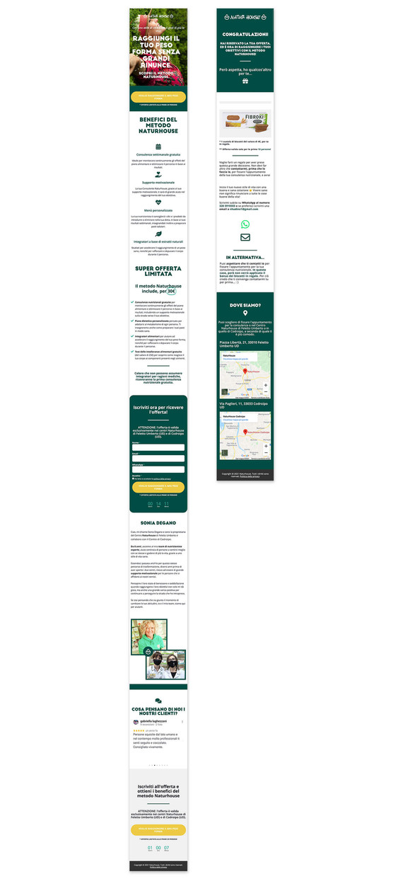 Landing Page & Thank You Page - Mobile Responsive