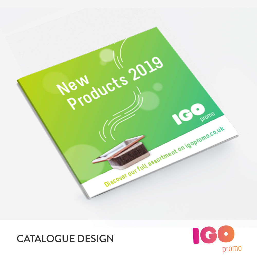 IGO Promo catalogue design