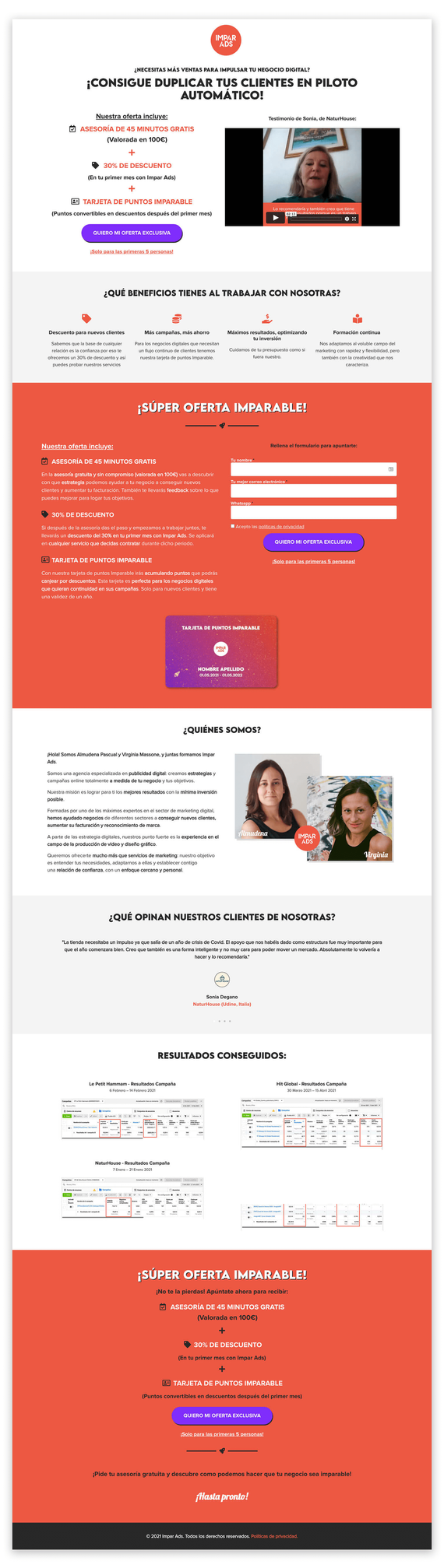 Landing Page (Opt-in)