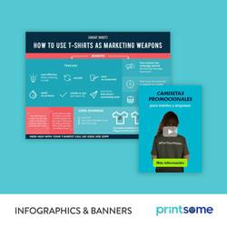 Printsome Infographics & Banners