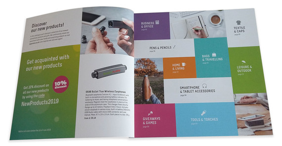 Products Catalogue (Inside View)