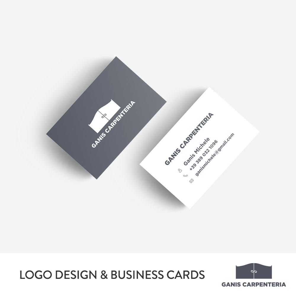Ganis Carpenteria Logo & Business Cards