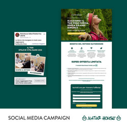 Naturhouse Social Media Campaign
