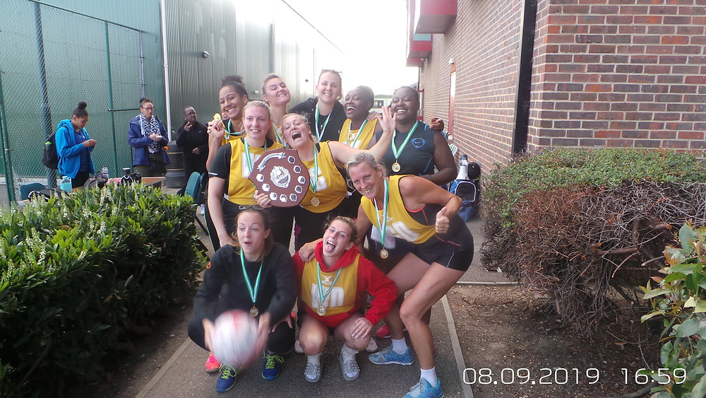 New Cambell Netball Club wins the tournament - Congratulations