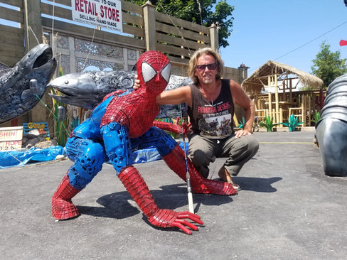 Spider-man and Ron