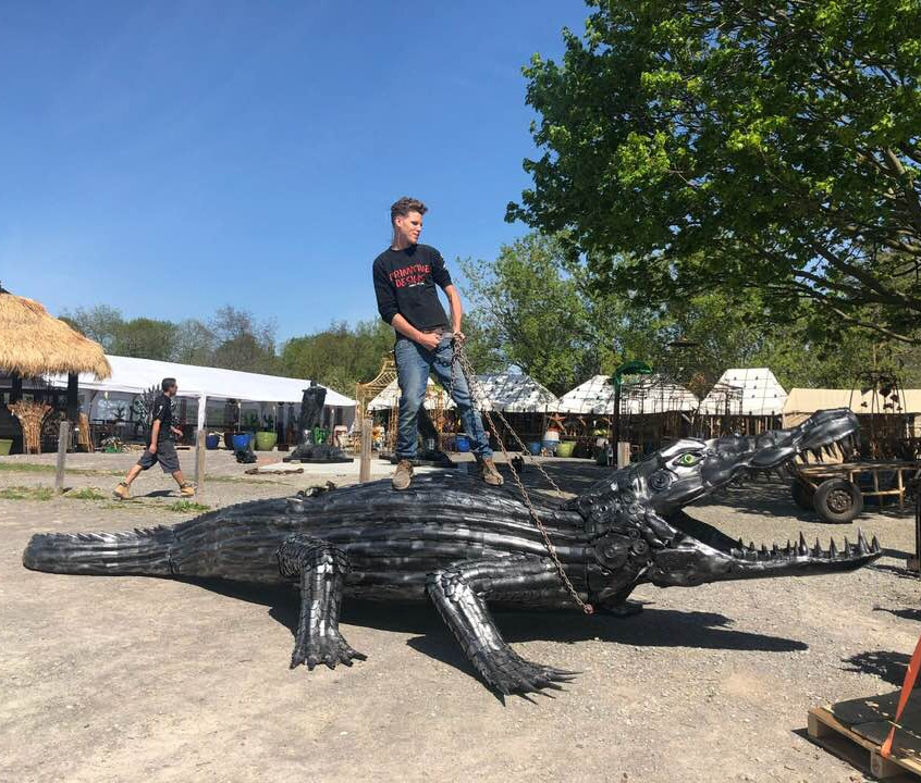 Giant Croc Port Hope Must See