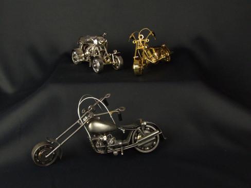 Metal Art Bike