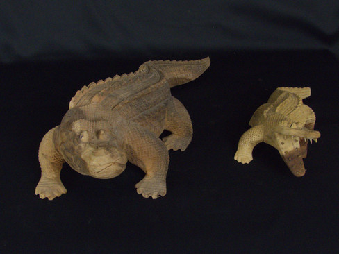 Hand Carved Croc