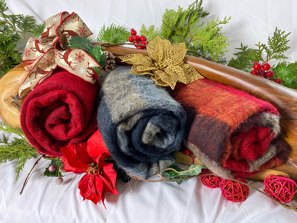 Yak wool Scarves/Throws