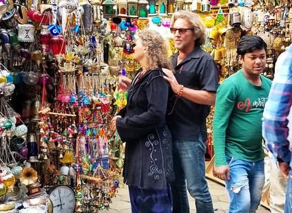 Market in New Deli India