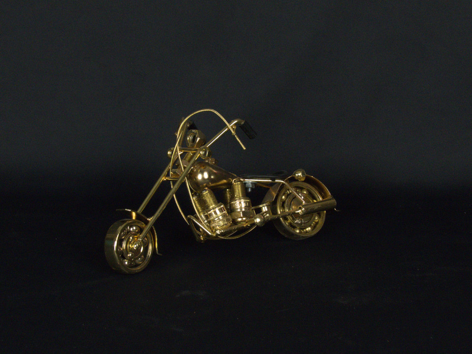 Metal Art Bike