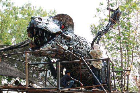 Building T-rex