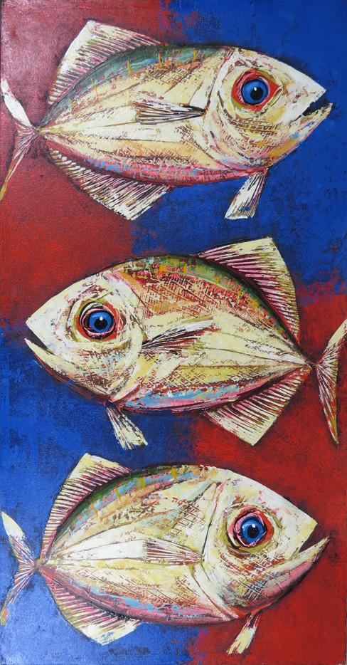 Fish Painting Tall