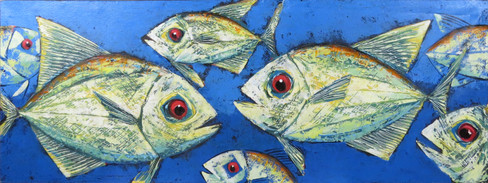 Fish Painting Long