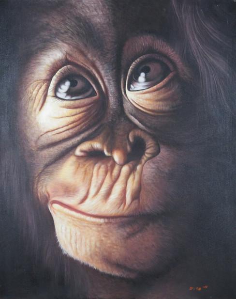 Monkey Painting