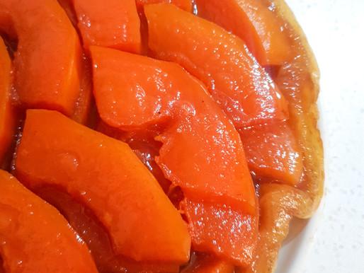 Tarte Tatin à la papaye