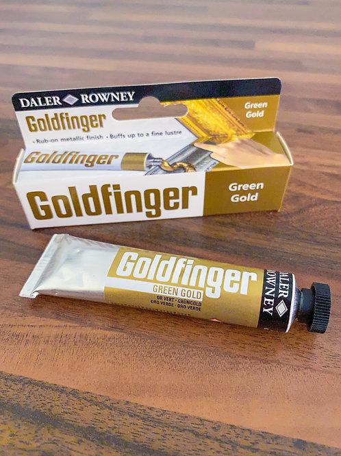 Zlatá metalická pasta Goldfinger