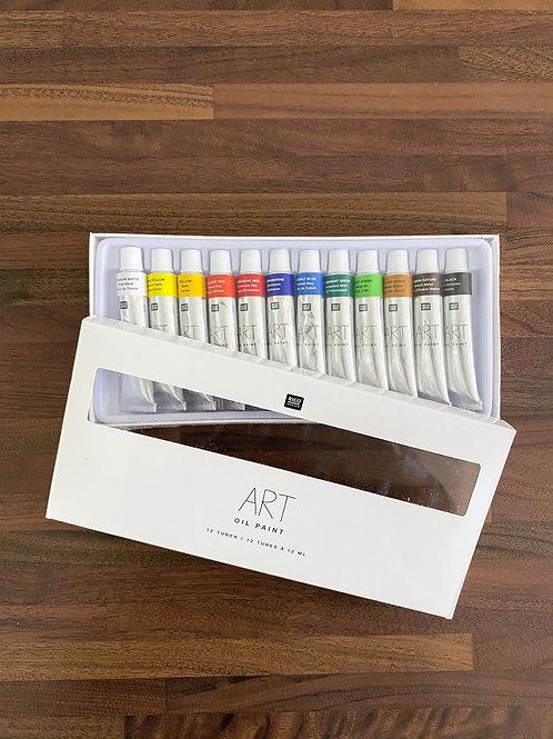 Sada olejových farieb Art 12x12 ml