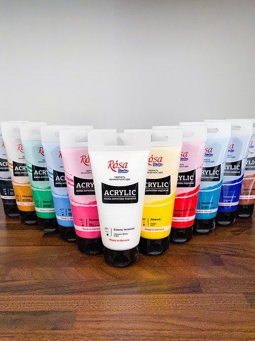 Akrylová farba ROSA Studio 75ml