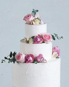 Wedding Cake Decorated