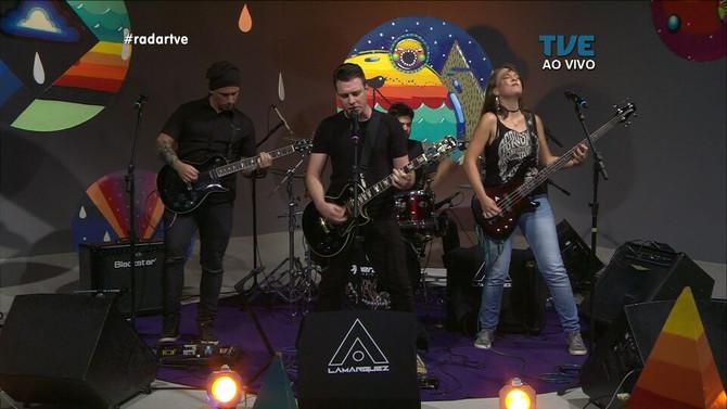 Lamarquez ao vivo no Radar - TVE RS