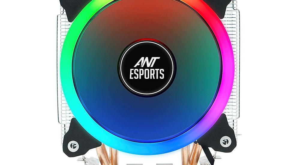 Ant Esports ICE-C612 with RGB LED PWM CPU Cooler/Fan Support Intel LGA775, LGA11