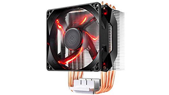 Cooler Master Hyper H410R (RR-H410-20PK-R1) 120mm RED LED Air CPU Cooler Intel/A