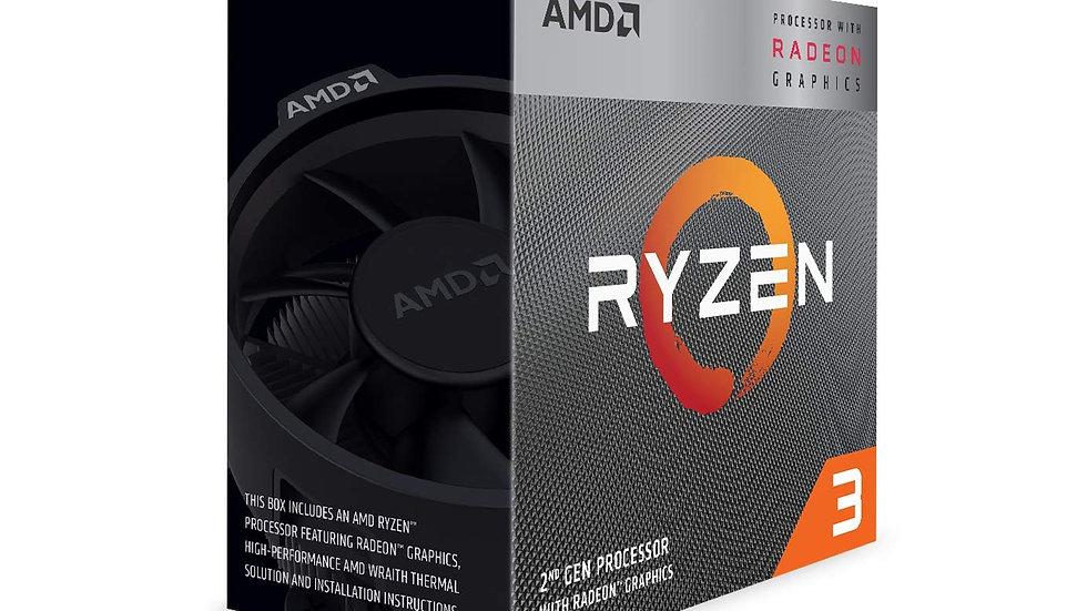 AMD Ryzen 3 3200G with RadeonVega 8 Graphics Desktop Processor 4 Cores up to 4GH